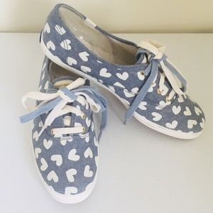 Keds Champion Heart Sneakers for Women 8.5